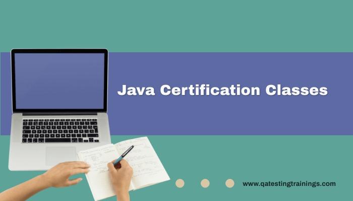 Java Certification Classes