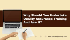 Why Should You Undertake Quality Assurance Training And Ace It?